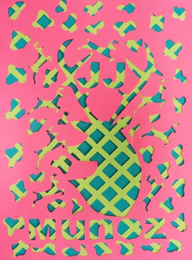Stunning artwork created by layers of cut construction paper. The perfect way to teach Balance and Movement!