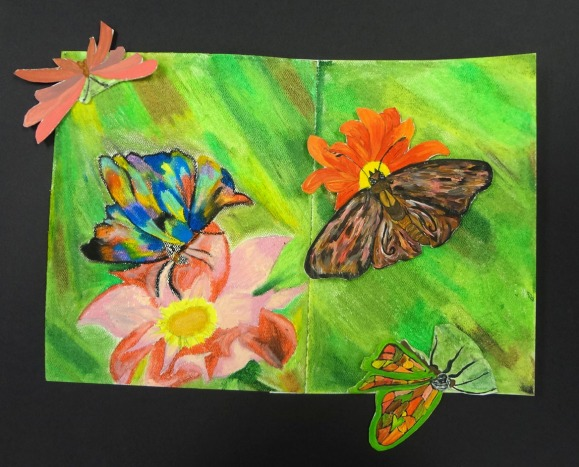 Independent Projects - a great way to encourage high school art students to think creatively and pursue their own projects.