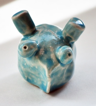 Clay Figurines - Students created small figurines inspired by artwork throughout different time periods.