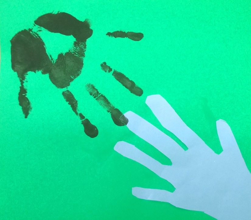 Encourage Creativity with Hand-prints