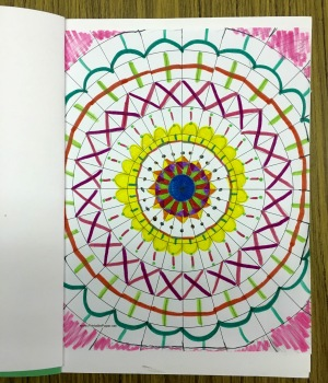 Mandala Sketchbook Project