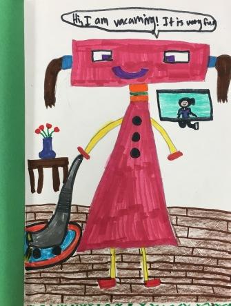 Robot Verb Sketchbook Project