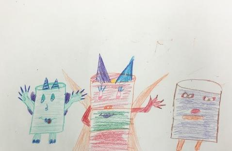 Monster Family Sketchbook Project