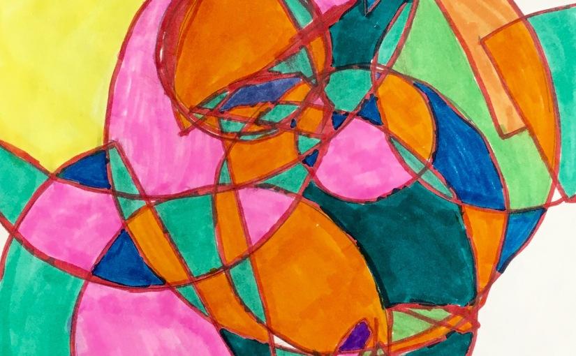 Frank Stella InspiredDrawings
