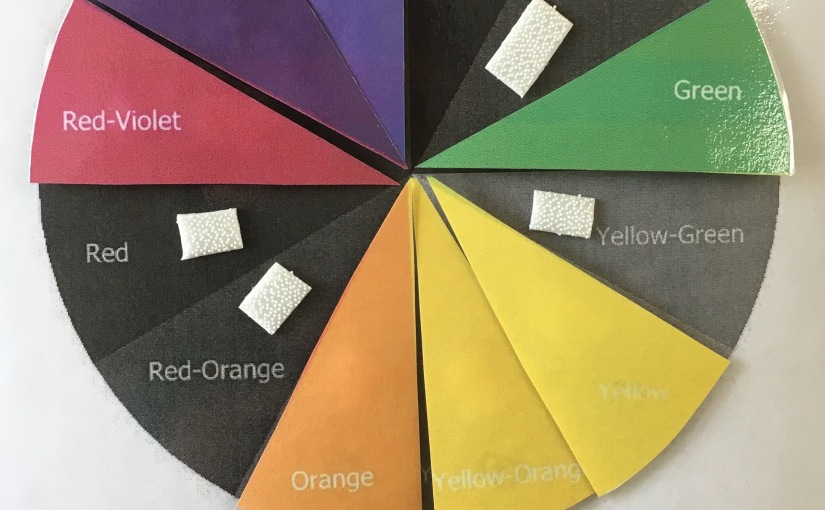 Earn Art Centers using a Color Wheel