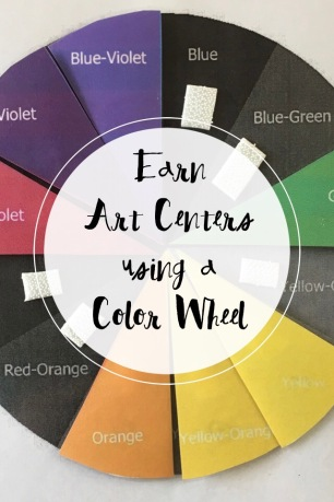 Use Color Wheel Charts to help your art classes earn a Centers Day.